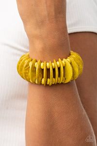Paparazzi Accessories Tropical Tiki Bar - Yellow Bracelets