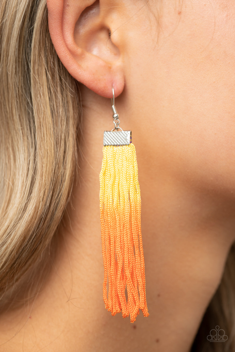 Paparazzi Accessories Dual Immersion - Yellow Earrings