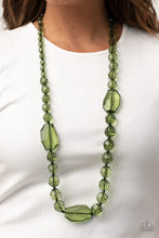 Load image into Gallery viewer, Paparazzi Accessories Malibu Masterpiece - Green Necklaces - Lady T Accessories