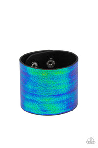 Paparazzi Accessories Cosmo Cruise - Blue Wrap Bracelets - Lady T Accessories