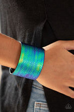 Load image into Gallery viewer, Paparazzi Accessories Cosmo Cruise - Blue Wrap Bracelets - Lady T Accessories