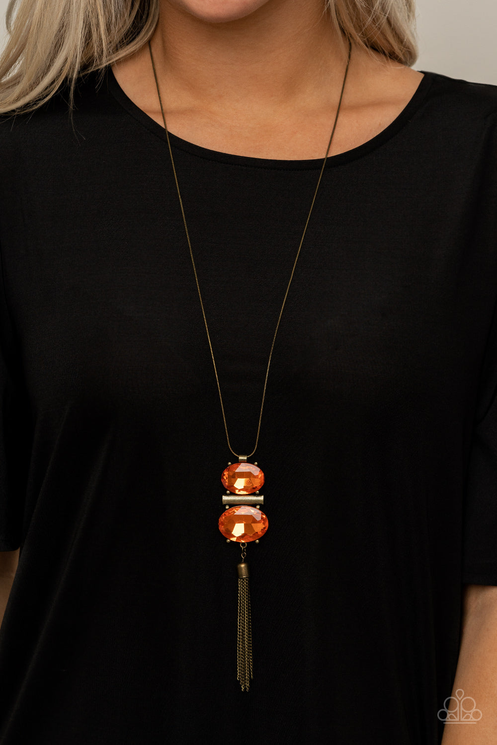 Paparazzi Accessories Runway Rival - Orange Necklaces - Lady T Accessories