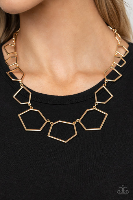 Paparazzi Accessories Full Frame Fashion - Gold Necklaces - Lady T Accessories