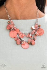 Paparazzi Accessories Spring Goddess - Orange Necklaces - Lady T Accessories