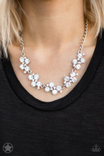 Load image into Gallery viewer, Paparazzi Accessories Hollywood Hills - White Blockbuster Necklaces - Lady T Accessories