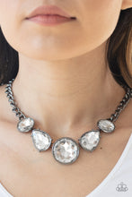 Load image into Gallery viewer, Paparazzi Accessories All the Worlds My Stage - Black Necklaces