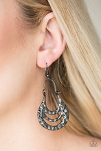 Load image into Gallery viewer, Paparazzi Accessories Hang Zen Black Earrings