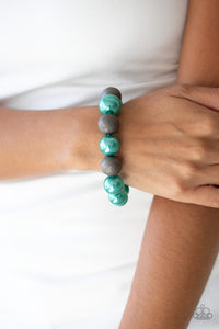 Paparazzi Accessories Humble Hustle - Green Bracelets
