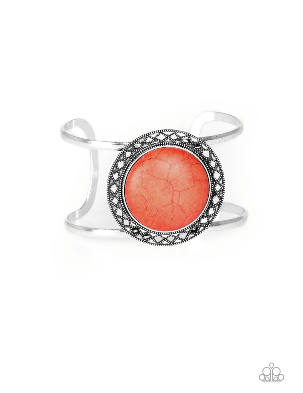 Paparazzi Accessories Rodeo Rage - Orange Bracelets  - Lady T Accessories