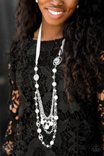 Load image into Gallery viewer, Paparazzi Accessories All the Trimmings - White Necklaces - Lady T Accessories