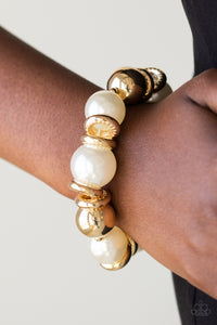 Paparazzi Accessories Rockin Rockefeller - Gold Bracelets  - Lady T Accessories