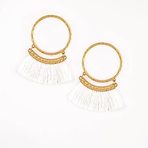 Paparazzi Accessories This is Sparta - Gold Earrings