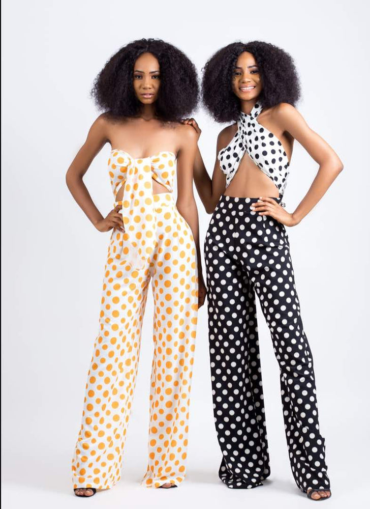 Load image into Gallery viewer, POLKADOT JUMPSUIT