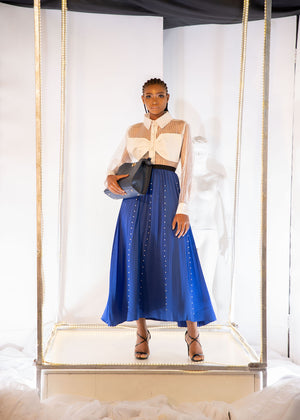 Load image into Gallery viewer, JUNI BEADED SKIRT