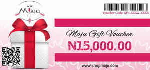 Load image into Gallery viewer, MAJU N15,000 GIFT VOUCHER