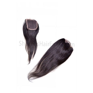 Virgin Indian Straight Lace Closure