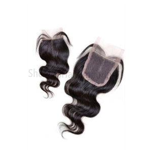Virgin Indian Body Wave Lace Closure