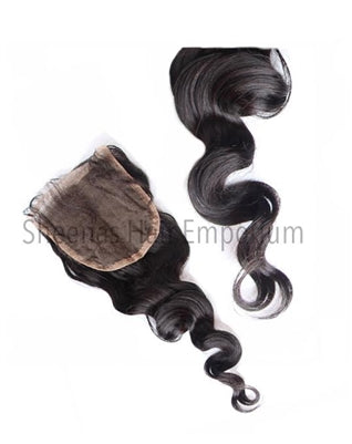 Virgin Indian Natural Wave Lace Closure