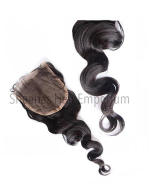 Load image into Gallery viewer, Virgin Indian Natural Wave Lace Closure - Sheena's Hair Emporium