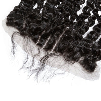 Virgin Indian Curly Lace Frontal
