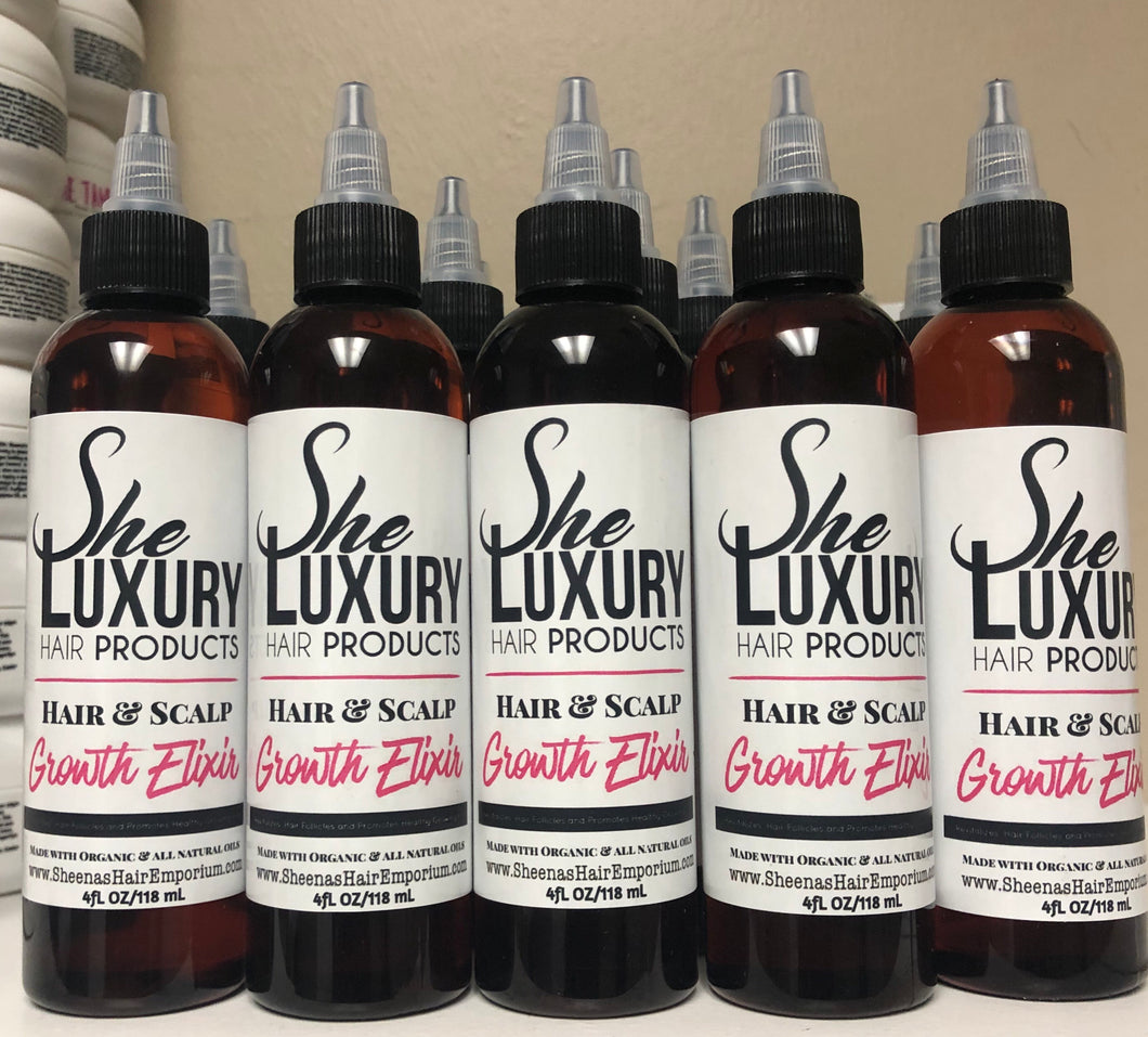 SHE HAIR & Scalp Growth Elixir