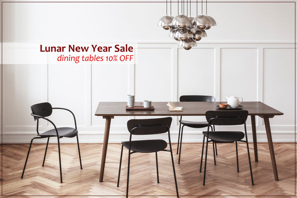 Lunar New Year Sale | Dining Tables 10% OFF