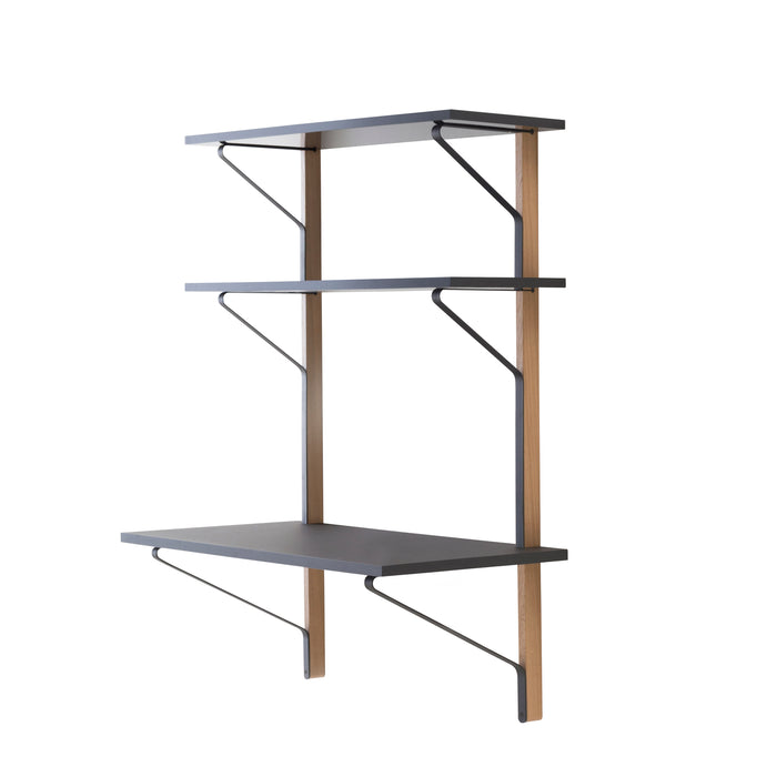 Kaari Wall Shelf with Desk