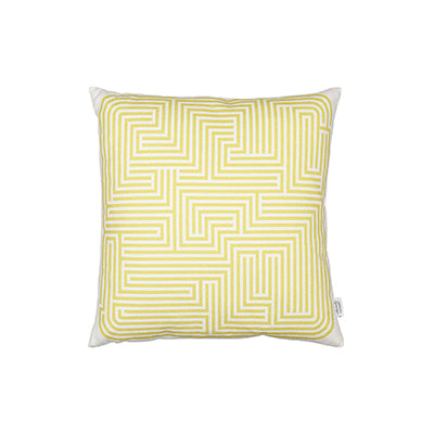 Maze Graphic Print Pillow | Stock