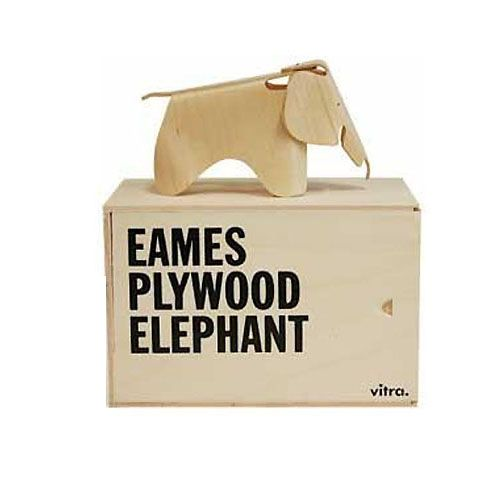 Miniatures Eames Plywood Elephant