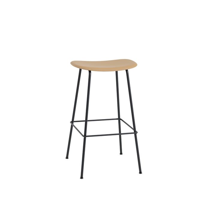 Fiber Bar Stool - Tube Base H75