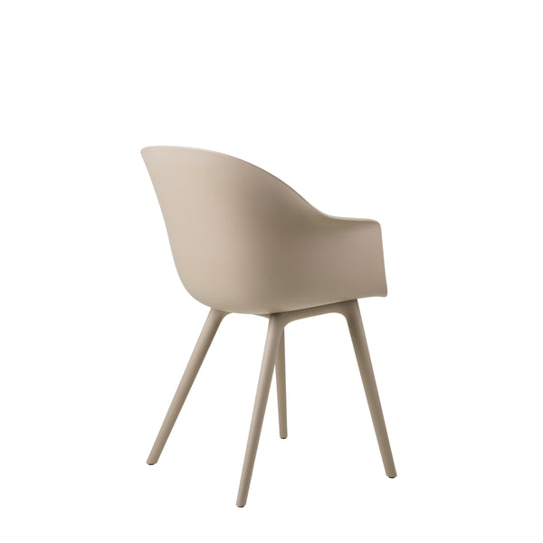 Bat Dining Chair, Un-Upholstered, Plastic Base