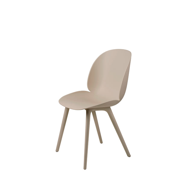 Beetle Dining Chair - Un-upholstered, Plastic Base