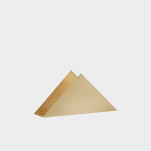 ❄ Brass Triangle Stand