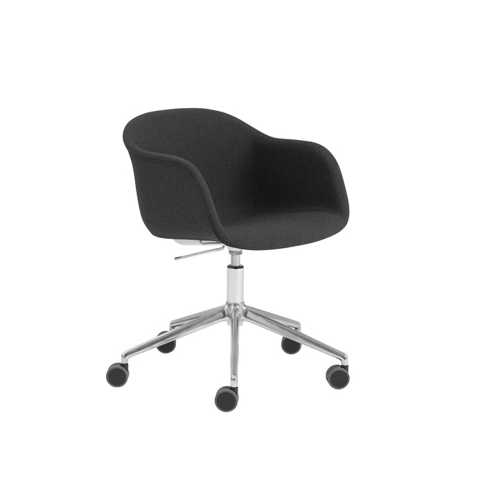 Fiber Armchair - Swivel Base w. Castors & Gas Lift