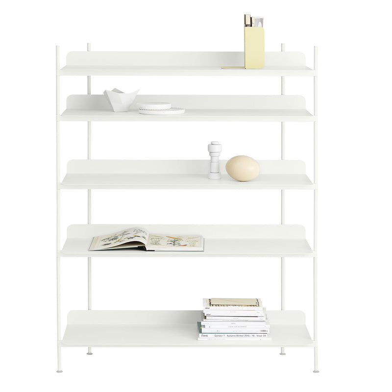 Compile Bookcase, Grey | Outlet