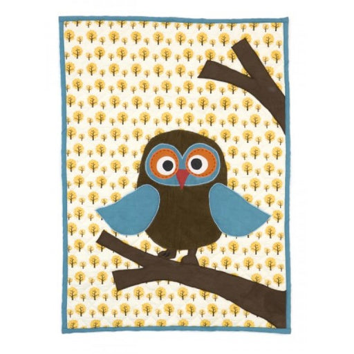 Quilted Blanket, Owl