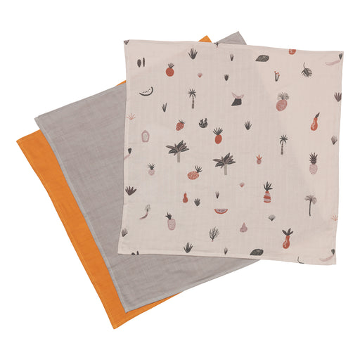 Muslin Squares - Fruiticana - Set of 3 | Stock