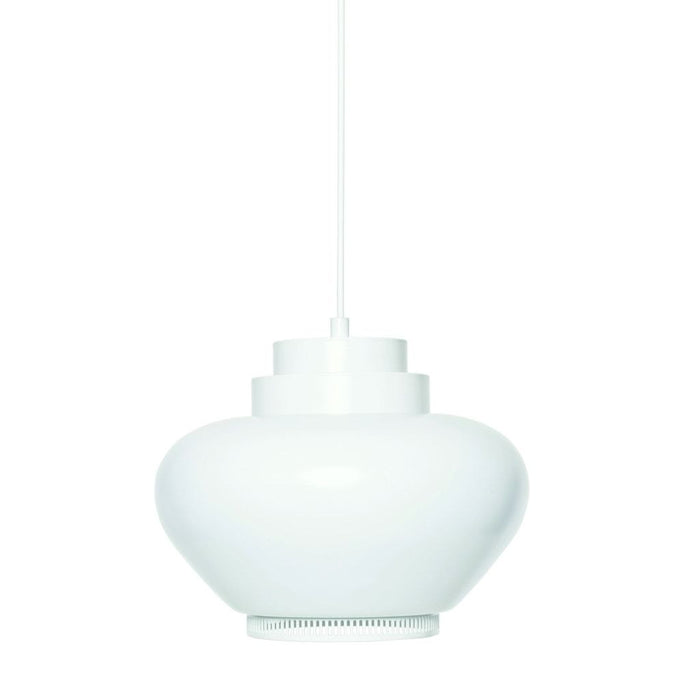 A333 Pendant Lamp White Shade/white Ring Lighting