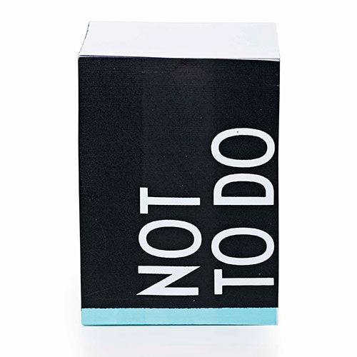 Adhesive Notes - Not To Do | Stock