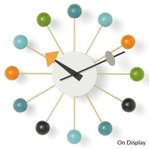 Ball Clock Multicoloured Home Accessories