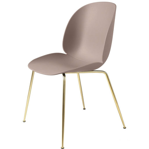 Beetle Dining Chair Brass / Sweet Pink Furniture