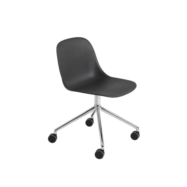 Fiber Side Chair - Swivel Base w. Castors