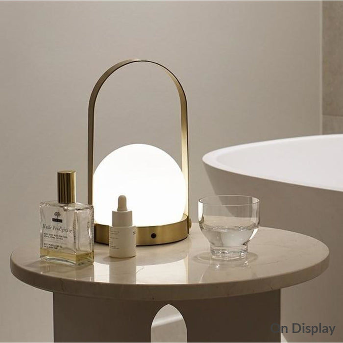 Carrie Led Lamp Gold Lighting