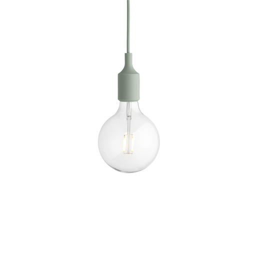 E27 Pendant Lamp Light Green Lighting
