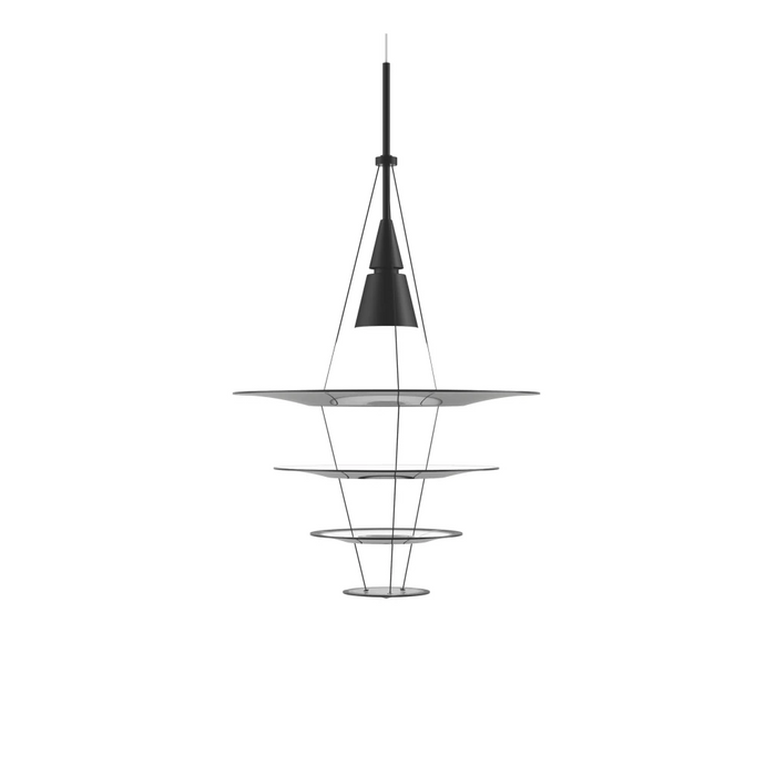 Enigma 425 Pendant Lamp Black Lighting