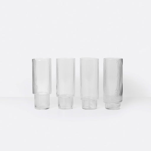 Ripple Long Drink Glass (Set of 4)