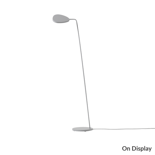 Leaf Floor Lamp Grey Lighting