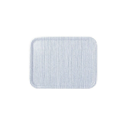 Rivi Tray Large / White/blue Home Accessories