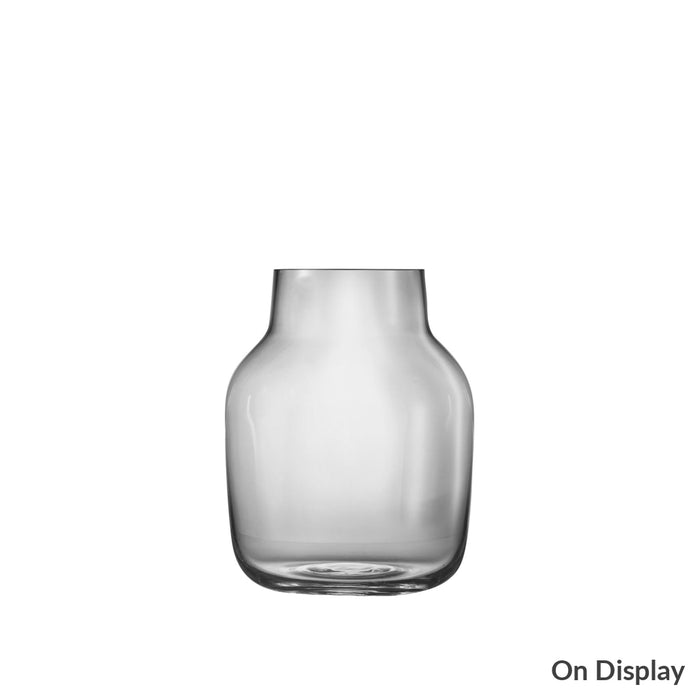 Silent Vase Large / Grey Home Accessories