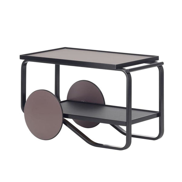 Tea Trolley Black Furniture